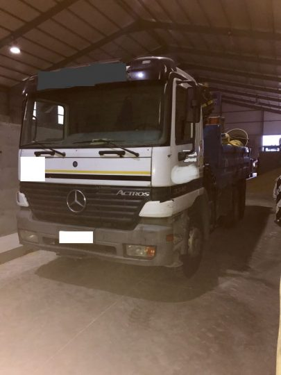 Camion Mercedes 2
