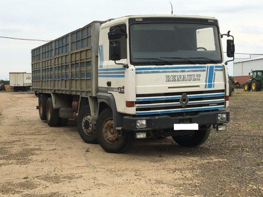 Camion Renault Mercofran