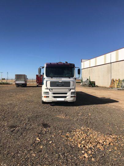 Camion Man TG410 Mercofran