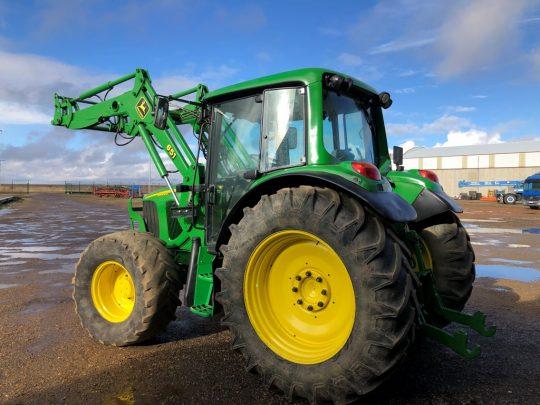 John Deere Mercofran Tractores
