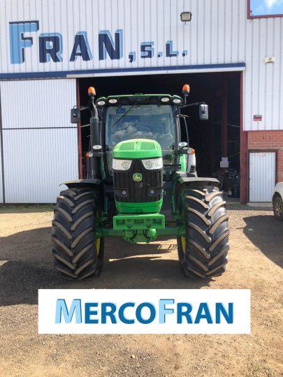 John Deere 6210 R Mercofran 751195 (35)