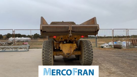 Dumper VOLVO A25D Mercofran (1)