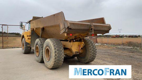 Dumper VOLVO A25D Mercofran (2)